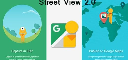 Enjoy Google's Street View from v2.0 Update