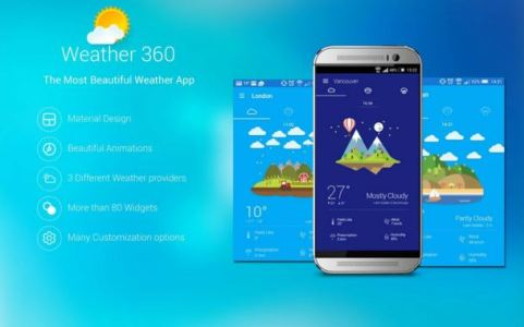 Android Weather 360 App