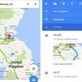 Learn to Share Directions from Google Maps