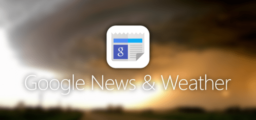 Try out Google News & Weather on your Android Device