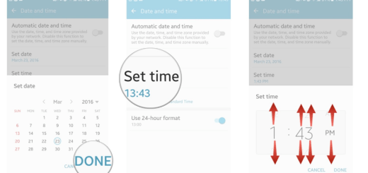 How to Change the Date and Time on your Galaxy S7