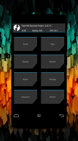 TWRP RECOVERY ONEPLUS TWO