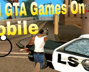 All GTA Games On Mobile (Android/IPhone)