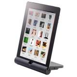 Auvisio MSS-340.bt: Tabletständer und Bluetooth-Soundstation in einem