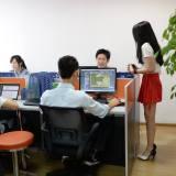 Verrückt: In China gibt es Cheerleader für Programmierer