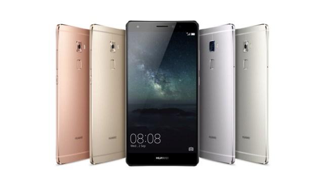 """Das Huawei-Smartphone """"Mate S"""" verfügt ebenso wie die """"iPhone""""-Modelle """"6s"""" und """"6s Plus"""" über einen druckempfindlichen Bildschirm. (Foto: Huawei Technologies Co., Ltd.)"""