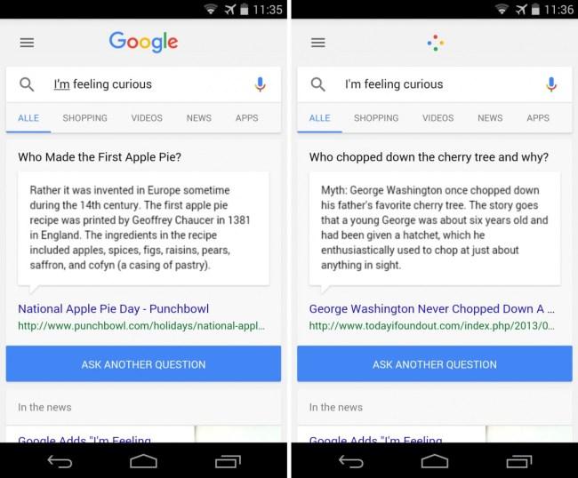 Auf dem iPhone, aber auch auf Android-Smartphones kann die Google-Suchfunktion dich mit amüsanten Fragen und Antworten versorgen.