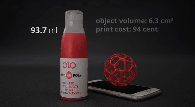 Die Flüssigkeit ist in unterschiedlichen Farben erhältlich. (Foto: Kickstarter.com)