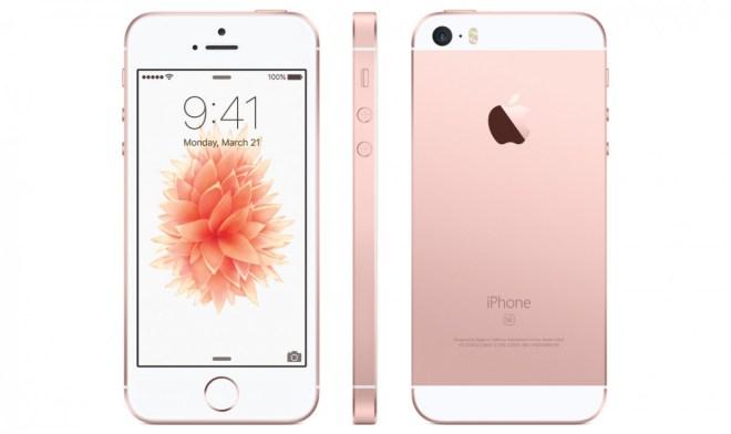 Das iPhone SE ist genauso stark wie das 6s und das 6s Plus, kostet aber deutlich weniger. Foto: Apple