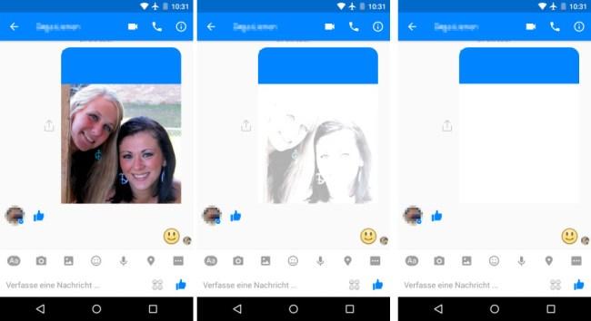 Nicht jede Nachricht und nicht jedes Foto ist für die Ewigkeit gedacht. Bald wird der Facebook Messenger Nachrichten zulassen, die sich nach dem Ablauf einer bestimmten Zeitspanne automatisch löschen. (Bildmontage)