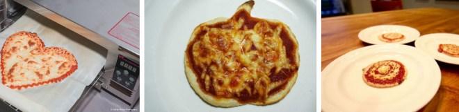 """Und so sehen die Pizzen aus, die der Pizzadrucker """"druckt"""". (Foto: Beehzex)"""