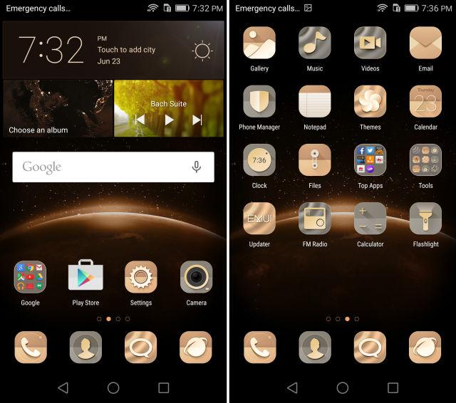 Die hauseigene Oberfläche des Huawei Honor 5X (Bild: Ars Technica)