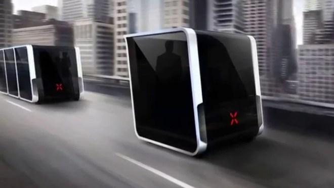 Modulare Fahrgastzellen sind die Zukunft des öffentlichen Verkehrs (Foto: Next Future Transportation)