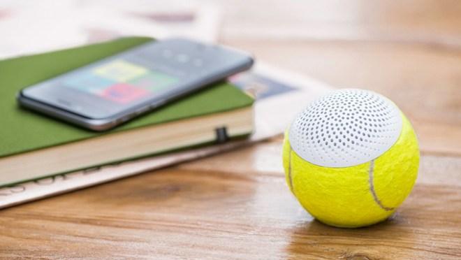 hearO nennt sich der in einem gebrauchten Tennisball verbaute Bluetooth-Speaker (Foto: HearO)