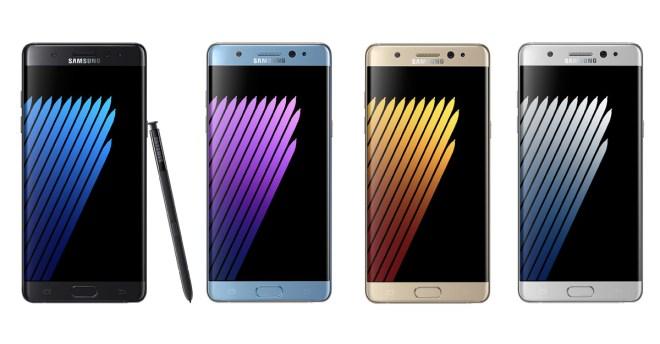 Das Galaxy Note 7 wird ab 19. September ausgetauscht (Foto: Samsung)