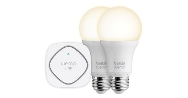 Haben es vielleicht auf dein Smartphone abgesehen: die WeMo-Geräte von Belkin