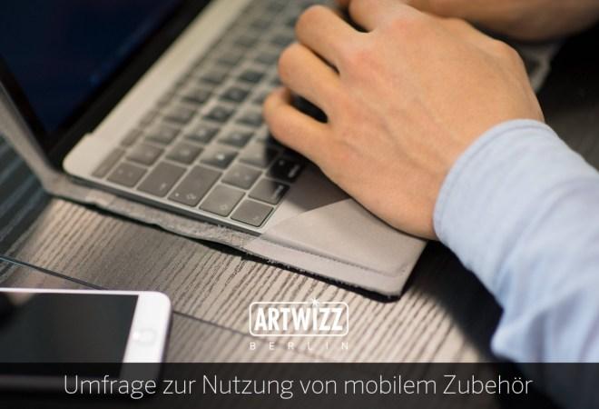 """Der Zubhörhersteller Artwizz veranstaltet eine """"Umfrage zur Nutzung von mobilem Zubehör"""" - und bedankt sich bei den Teilnehmern mit einem 15-Prozent-Rabattgutschein sowie mit der Chance auf einen 100-Euro-Gutschein."""