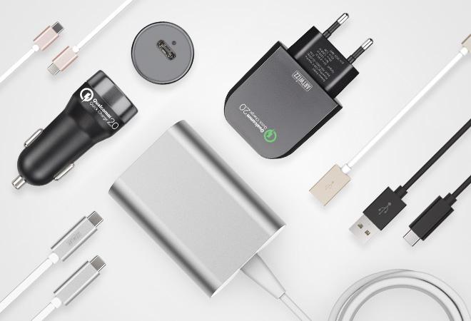Das USB-C Produktsortiment von Artwizz reicht von Kabeln über Adapter bis hin zu Ladegeräten. (Foto: Artwizz GmbH)