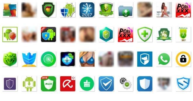 Icon von Fake-Apps, in denen sich Loapi versteckt (Bild: Kaspersky)