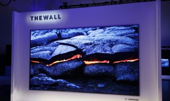 """""""The Wall"""" – der modulare Fernseher von Samsung"""