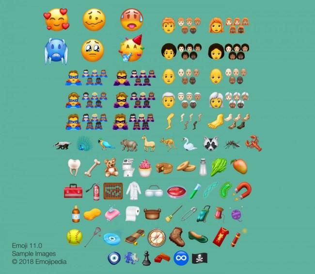 Emojis2018