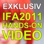 IFA 2011: Hands-On-Video zum Sony Tablet P