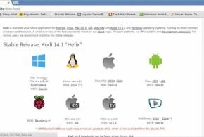 How to install Kodi on Windows