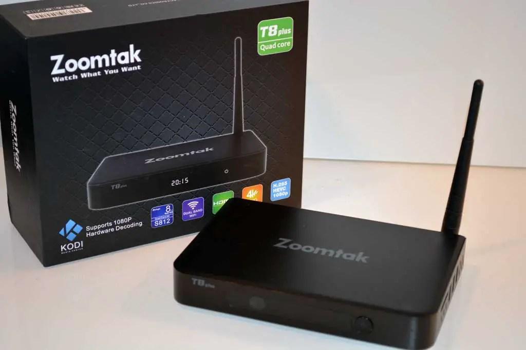 Box TV Zoomtak T8 Plus cấu hình mạnh mẽ, xử lý dữ liệu mượt mà