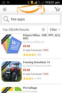 Amazon Underground - Android Picks