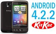 Aktualizacja HTC Desire do Android 4.4.2 KitKat