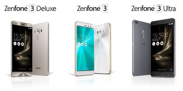 Nuevos Asus ZenFone 3, ZenFone 3 Deluxe y ZenFone 3 Ultra. La forja de Asus se pone en marcha