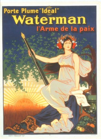 1919 Waterman Pen Ad