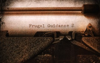 Typewriter for Frugal Guidance 2