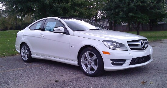 Review 2012 mercedes benz c250 coupe for Mercedes benz cleveland area