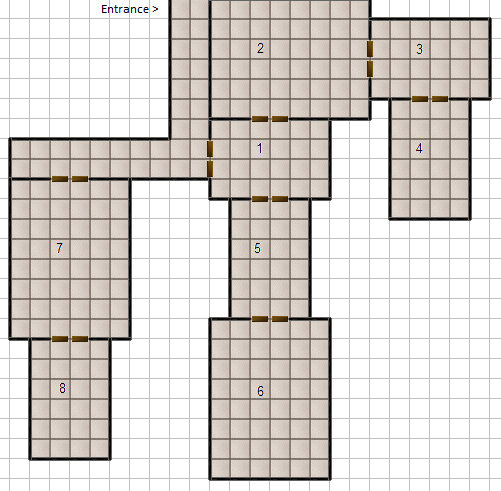 Dungeon Generator Comparison: Dungeon Bash