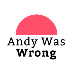 עמוד הבית | Andy Was Wrong