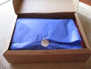 Paquete Zara Online