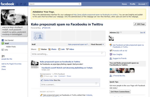 facebook open grah page