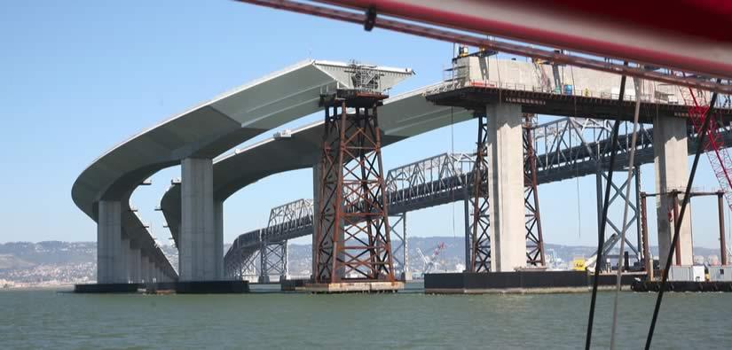 Bi se tudi vi peljali po nedokončanem mostu?