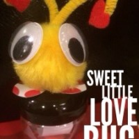 Easy Homemade Valentine's Love bugs that are not candy