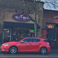 Where to take a pretty red car in Seattle (Lexus CT Hybrid review)