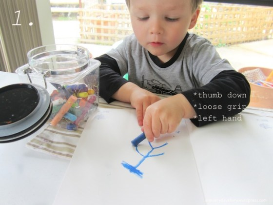 prewriting and writing readiness signs to look for montessori reggio occupational therapy pencil grip 2 Is He Ready?   Prewriting and Writing Readiness
