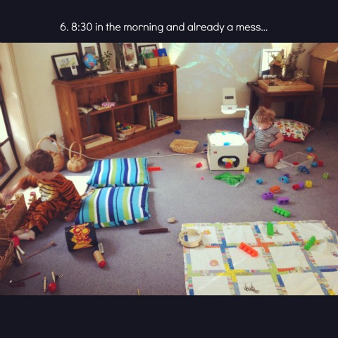 reggio playroom 2 an everyday story This Week…7/52