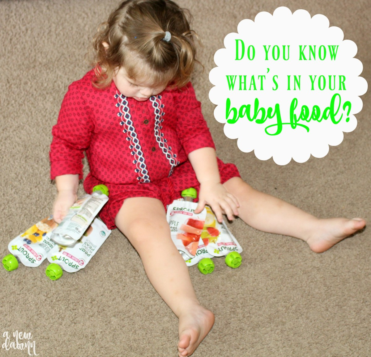 Do You REALLY Know What's In Your Baby Food?