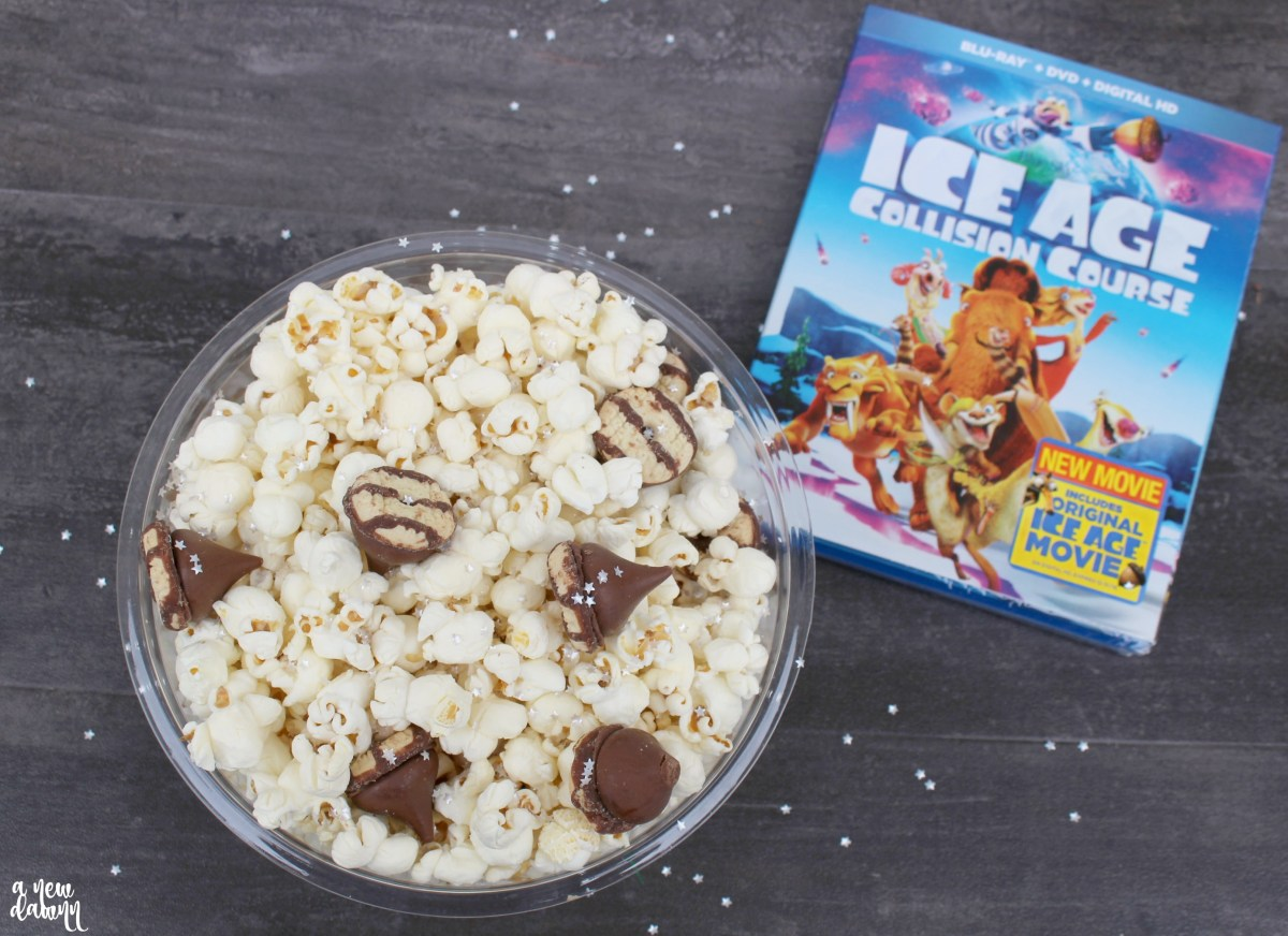 Ice Age Collision Course Acorn Popcorn Recipe