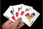hand of cards jokers wikimediacommons shuabang