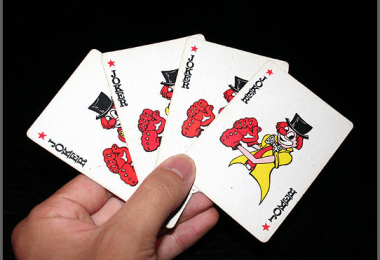 hand of cards jokers wikimediacommons shuabang