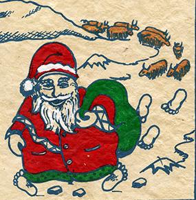 Santa on Mt. Everest