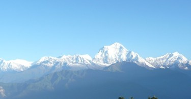 Annapurna range view from Poonhill