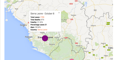 Ebola Outbreaks Screenshot